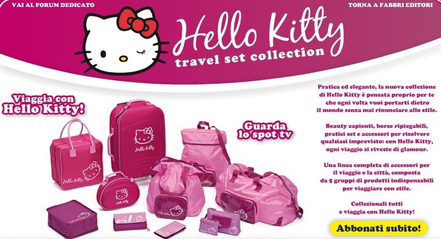 Hello Kitty Travel set collection  42b12704e0773
