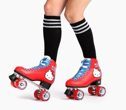 Hello Kitty x Moxi Roller Skates,sanrio,pattini,hello kitty