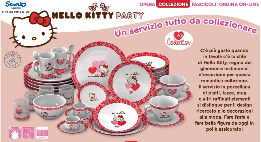 Hello kitty party  è in edicola!  dd478d323df4b